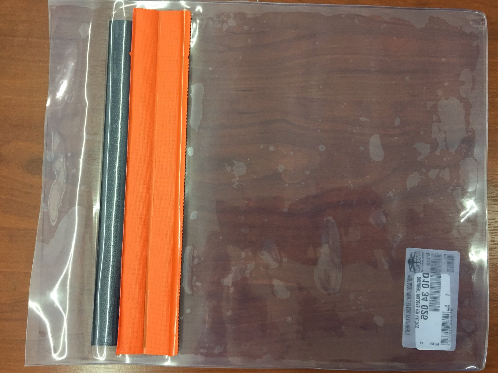 430a3a97703d Πλαστική Αδιάβροχη Θήκη Εγγράφων 28x27cm - Tziolis Blue Marine